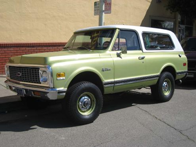 Chevy K5 Blazer Parts | Body